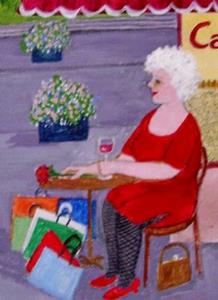 Detail Image for art Gran in Paris (Not for Sale)
