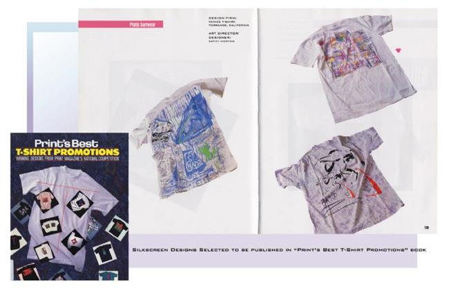 Art: Print's BEST OF T-SHIRT PROMOTIONS by Artist Kathy Morton Stanion