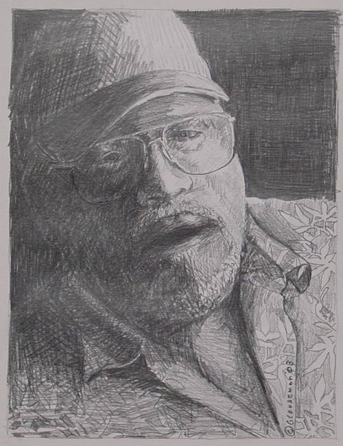 Art: Me again by Artist Denis Gloudeman