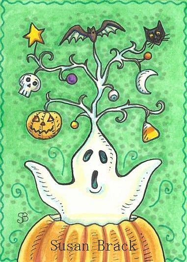 Art: HALLOWEEN SPIRIT by Artist Susan Brack