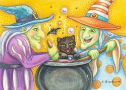 Art: WITCH'S BREW by Susan Brack