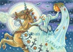 Art: BRIDE OF SLEEPY HOLLOW by Artist Susan Brack