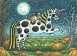 Art: WITCH'S TRICK PONY by Artist Susan Brack