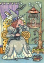Art: BAT WHISPERER by Artist Susan Brack