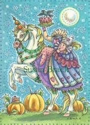Art: LET THEM EAT CAKE Unicorn by Susan Brack