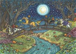 Art: OVER HILL AND DALE by Artist Susan Brack