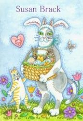 Art: Hiss N' Fitz - CHOCOLATE BUNNIES HAVE ARRIVED by Artist Susan Brack