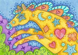 Art: ABRCADABRA by Artist Susan Brack