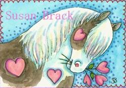Art: VALENTINE STUD by Artist Susan Brack