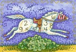 Art: AGAINST ALL ODDS by Artist Susan Brack