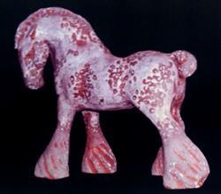 Art: Horse Of War by Artist Pamela Ann Lee