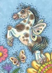 Art: HIGH SPIRITS by Artist Susan Brack