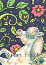Art: LITTLE NIBBLER by Artist Susan Brack
