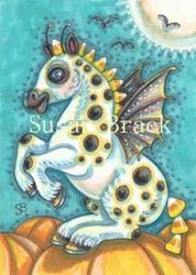 Art: BAT WINGS AND HOOFBEATS by Artist Susan Brack