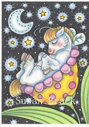 Art: WHIMSYNICKER LULLABY by Artist Susan Brack