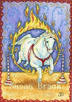 Art: RING OF FIRE by Artist Susan Brack