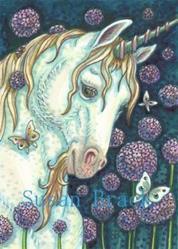 Art: PURPLE PASSION by Artist Susan Brack