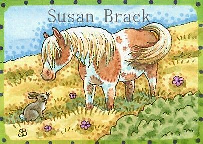 Art: SUMMER PASTURE by Artist Susan Brack