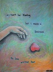 Art: Vulnerability (Haiku) by Artist Lindi Levison