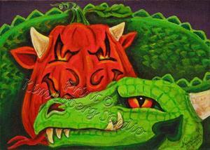 Detail Image for art MY Drago - O - Lantern