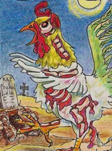 Detail Image for art Zombie Chicken Little