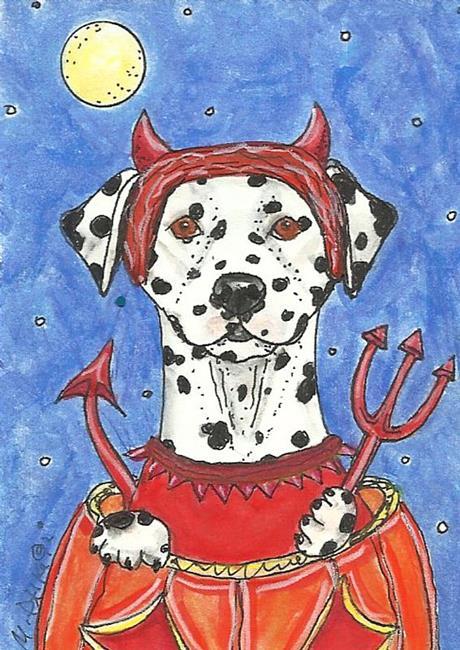 Art: Devil Dal by Artist Melinda Dalke
