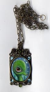 Detail Image for art Sea Monster necklace
