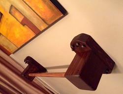 Art: Handcrafted Medival Towel Railing by Artist The Bridges Gallery