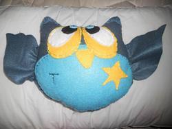 Art: First Owl by Artist  Tennille Bankes aka The Naked Artist