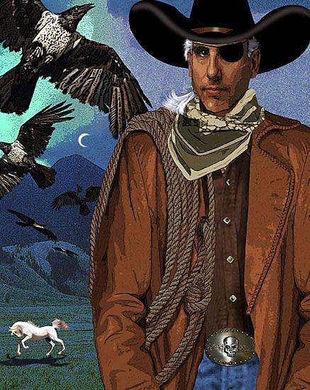 Art: Harbinger by Artist Carol Cross