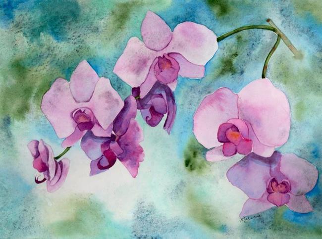 Art: Orchid by Artist Melanie Pruitt