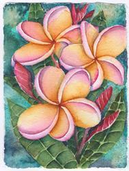 Art: Pua Melia by Artist Melanie Pruitt