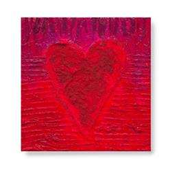 Art: Heart Texture #2 by Artist Kathy Morton Stanion