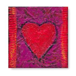 Art: Heart Texture #3 by Artist Kathy Morton-Stanion