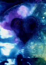 Art: Magical Heart by Artist Kathy Morton-Stanion