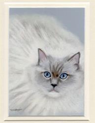Art: Blue Eyed Elizabeth by Artist Heather M. Mathieson