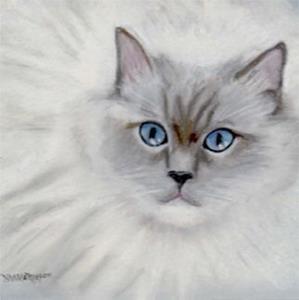 Detail Image for art Blue Eyed Elizabeth