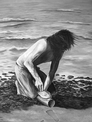 Art: Desperately Hungry - Commission by Artist Heather M. Mathieson