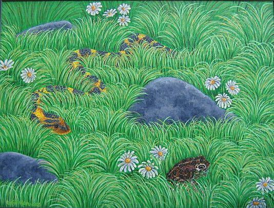 Art: Hide 'n Seek by Artist Jackie K. Hixon