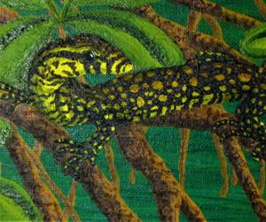 Detail Image for art Mangrove Rest(SOLD)