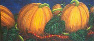 Art: Punkin' Patch by Artist Jackie K. Hixon