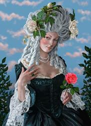 Art: The Rose of Marie Antoinette by Artist Mark Satchwill