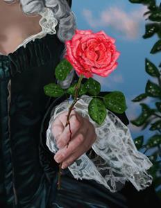 Detail Image for art The Rose of Marie Antoinette
