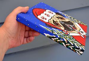 Detail Image for art Santa Puggie