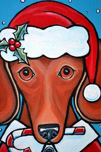 Detail Image for art Santa Doxie Claus