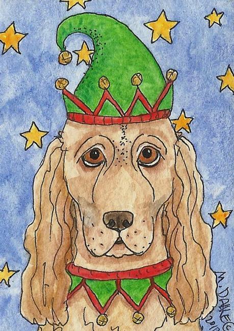 Art: Cocker Jingle by Artist Melinda Dalke