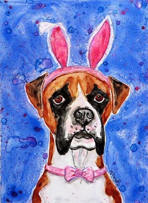 Art: Bunny-Box by Artist Melinda Dalke