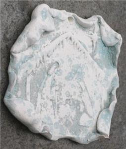 Detail Image for art Nativity Ornament