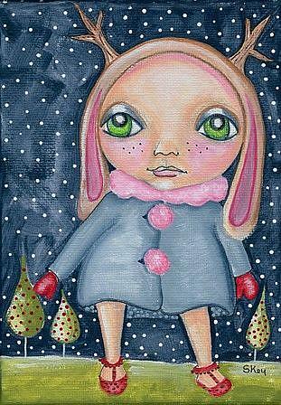 Art: My Darling Pen Nell Opee by Artist Sherry Key