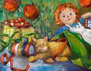 Detail Image for art Santas Helper
